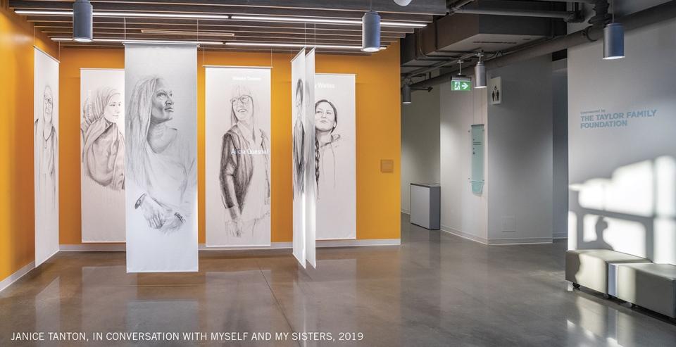 Janice Tanton, Mary-Beth Laviolette, YW Hub