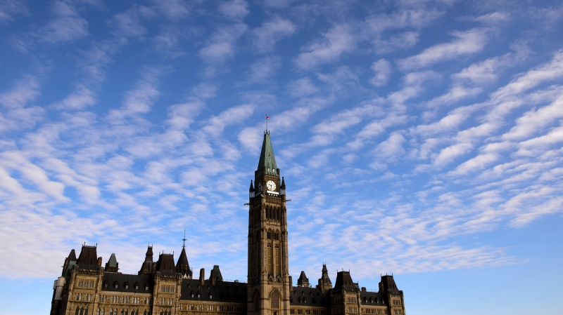 Parliament Hill is shown in Ottawa on March 11, 2020. THE CANADIAN PRESS/Sean Kilpatrick