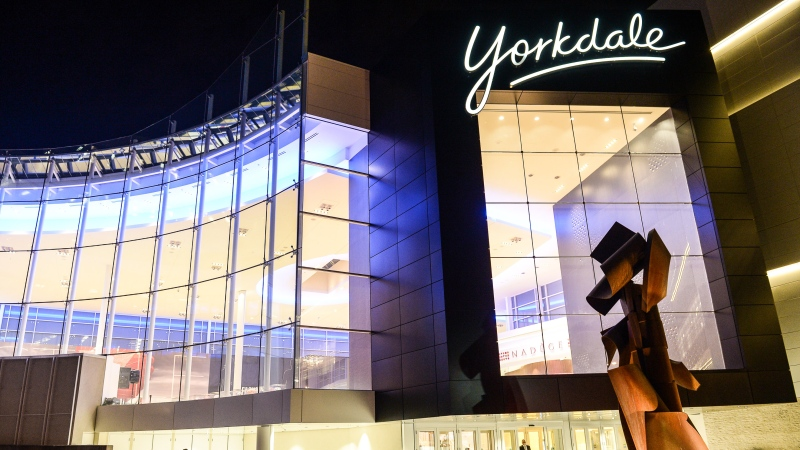 The exterior of Yorkdale is seen in this undated image.