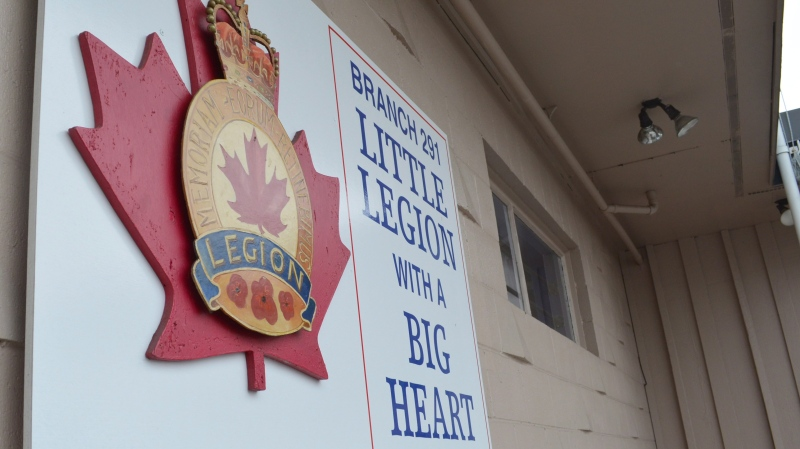 The exterior of a Royal Canadian Legion branch in Richmond, south of Vancouver, is shown on Saturday Nov. 9, 2013. THE CANADIAN PRESS/Steven Chua