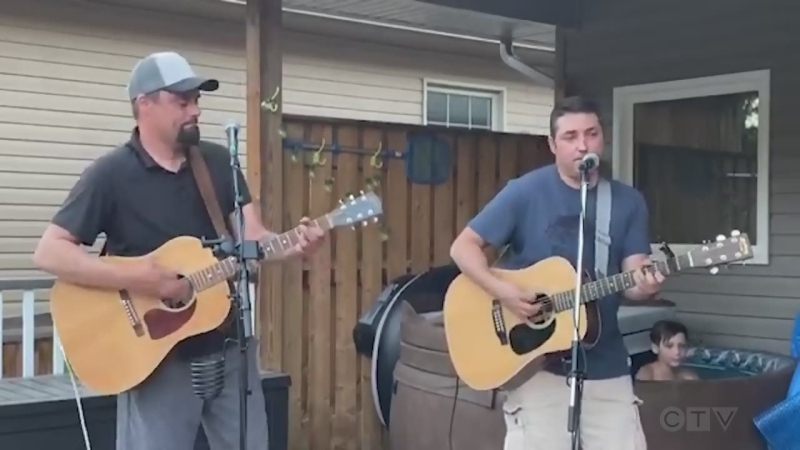 Tonight's song features cousins JP and Marc St. Onge from Chelmsford sing, 'The Weight' by The Band.