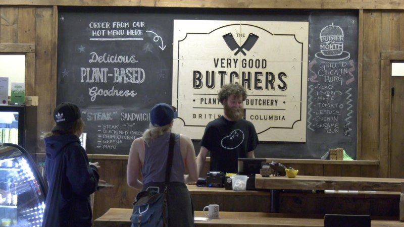 The company opened its first official store in the Victoria Public Market in 2017, pictured here: (CTV News)