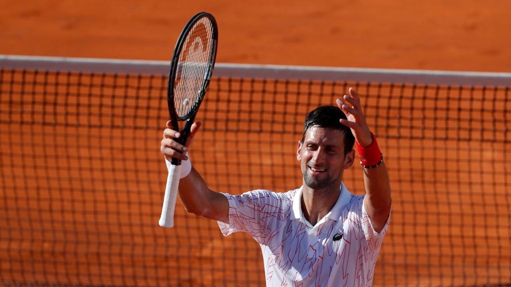 Novak Djokovic Tests Positive For Coronavirus Ctv News
