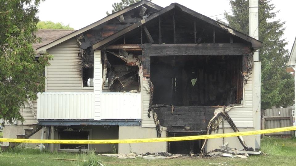 Deputy Fire Chief Jesse Oshell says house fire