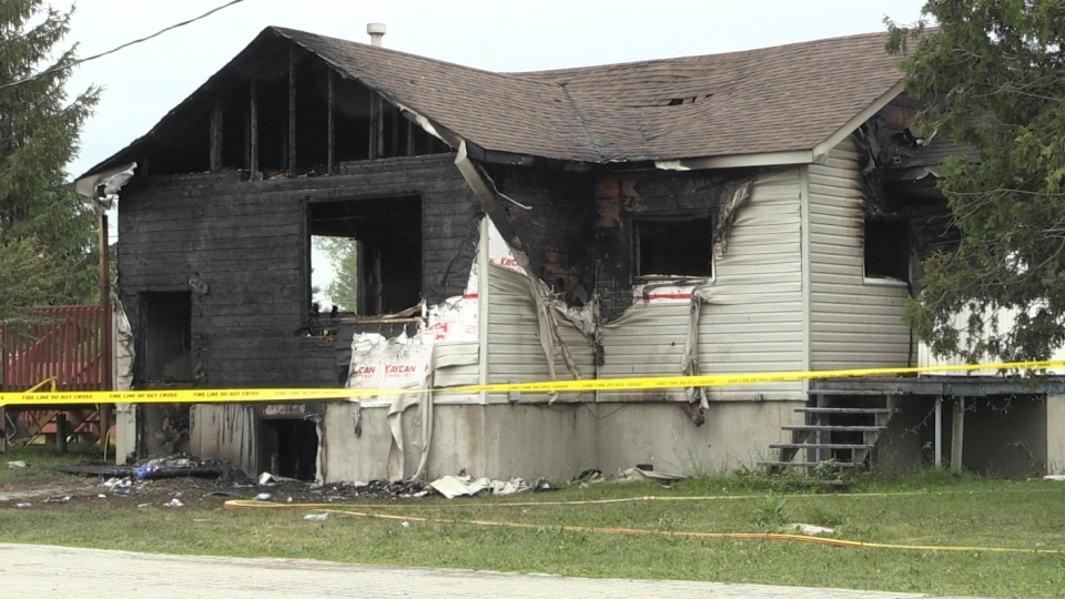 Val Caron house fire is being deemed 'suspicious'