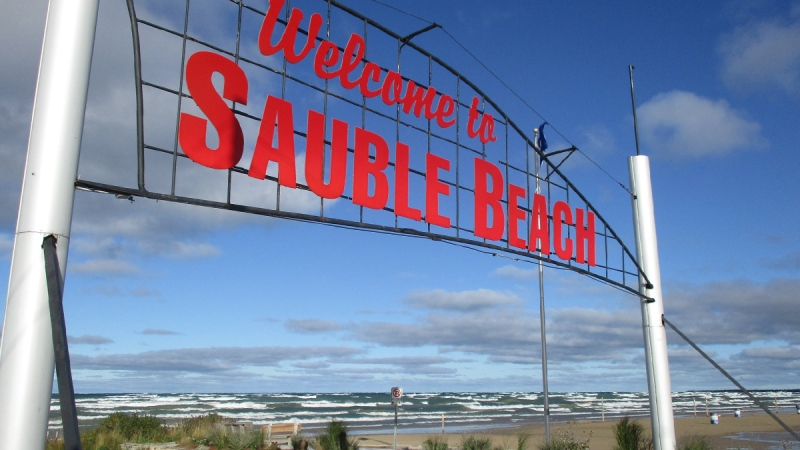 Sauble Beach, Ont. (Source: Town of South Bruce Peninsula / Facebook)