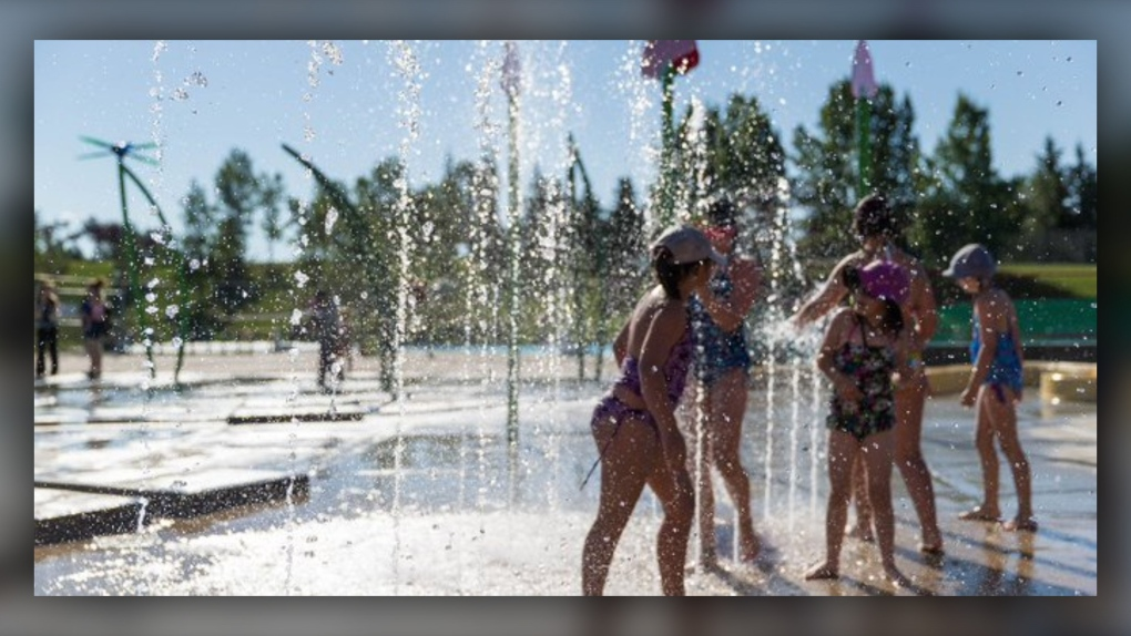 splash park, Calgary, City of Calgary