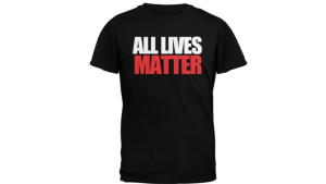 Walmart is facing backlash for a listing that shows this shirt for sale on their website.