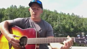 From camp, Sudbury's Jason Lytle sings a cover of 'Six Feet Apart' by Luke Combs.