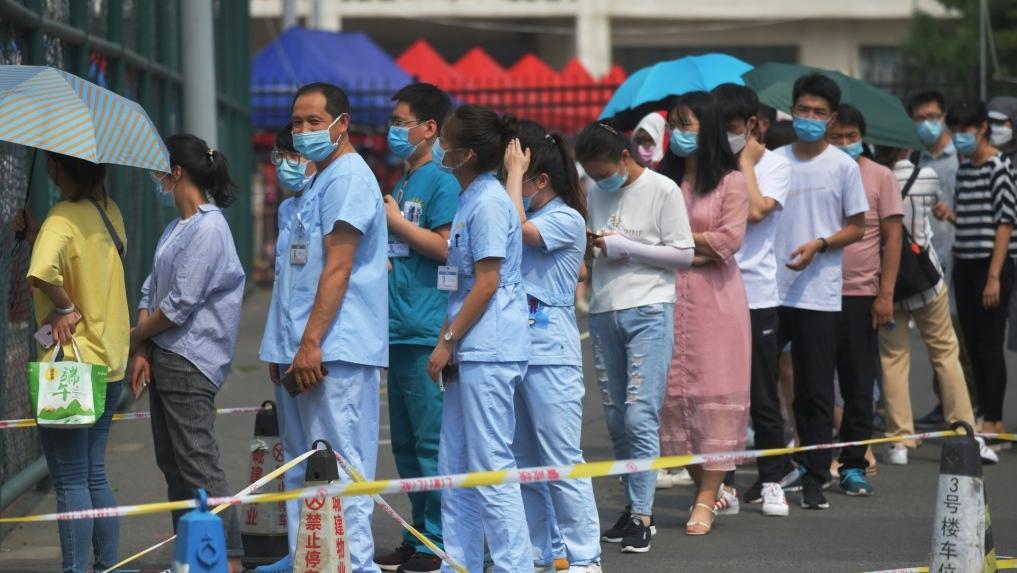 Beijing Coronavirus Mass Testing To Enter
