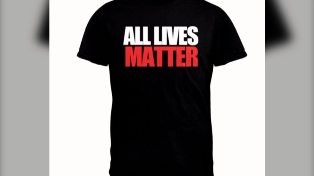Walmart face huge backlash for selling 'All Lives Matter' t-shirts