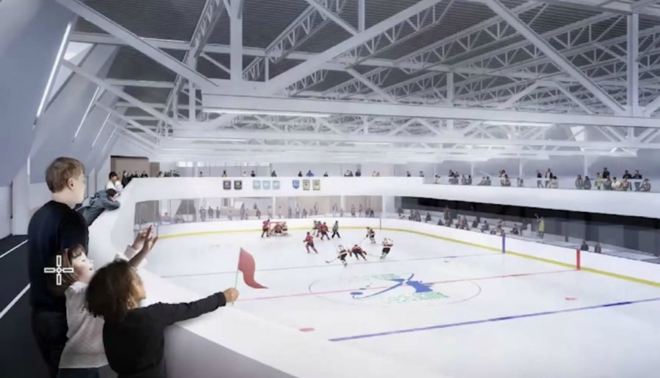 Updated plans to build a new community twin-pad rink and recreation centre in North Bay show costs have risen from $30 million to as much as $34 million. (Supplied)
