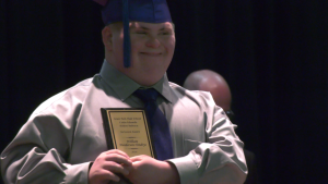 When Winnipeg graduating high school student Willy Henderson Yendrys walked across the stage, he made school history