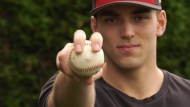Local pitcher makes the big league