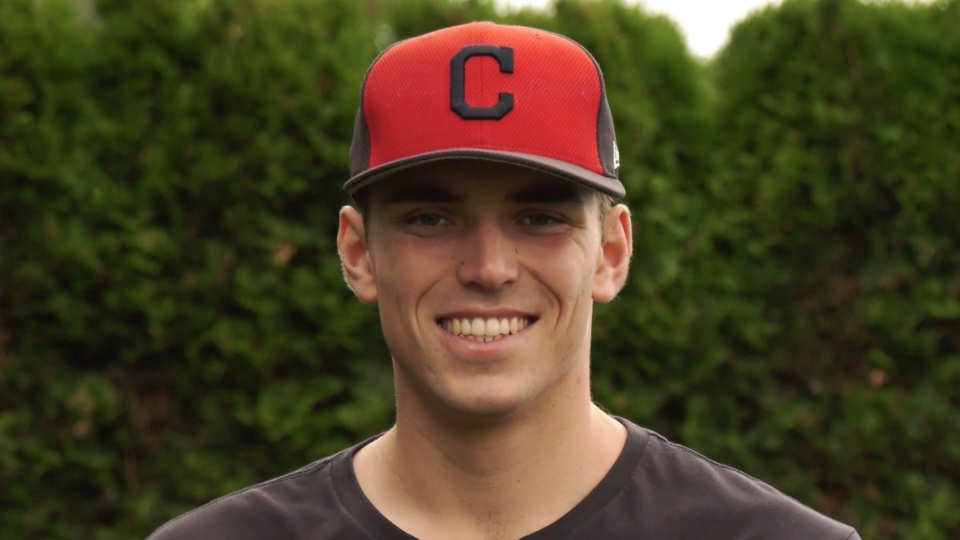 Cade Smith from Abbotsford, B.C. is now part of the Cleveland Indians organization