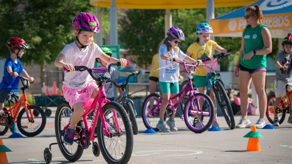 Pedalheads is operating its biking skills and safety day camps in B.C., Alberta, Ontario and Quebec this summer. (Courtesy Pedalheads)