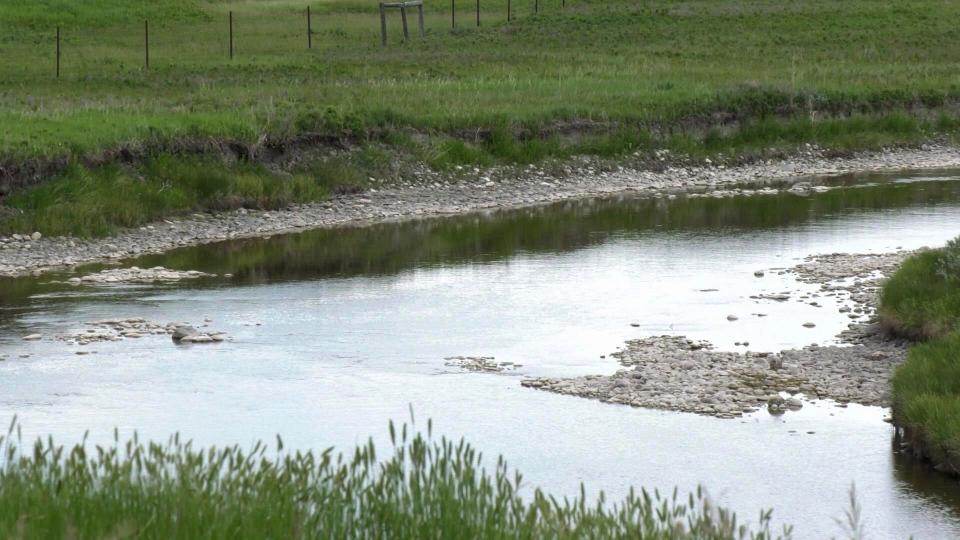 Milk River southern Alberta