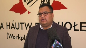 Tsartlip First Nation Chief Don Tom is pictured on June 25, 2020: (CTV News)
