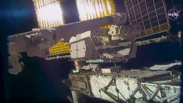 Astronaut says losing mirror on spacewalk was a 'real bummer'