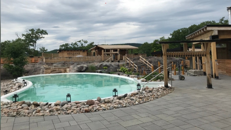 Nordik Spa in Chelsea reopens on Saturday for the first time since the COVID-19 pandemic began. (Leah Larocque/CTV News Ottawa)