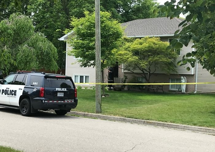Sarnia police investigate a reported shooting