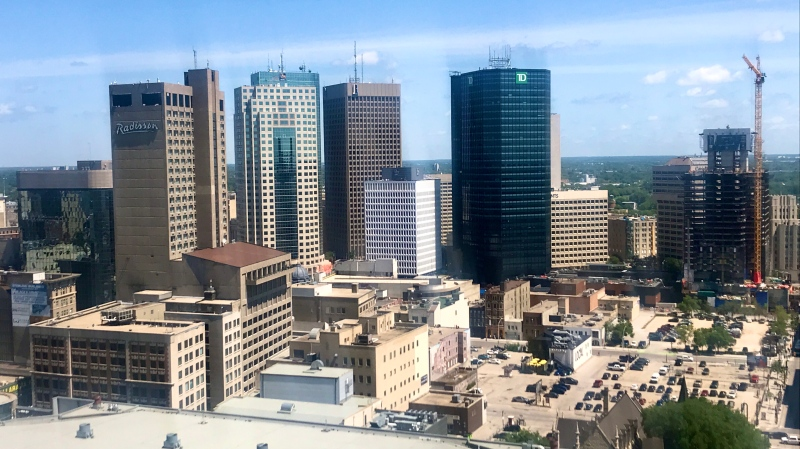Downtown Winnipeg. (Source: CTV News/Mason DePatie)