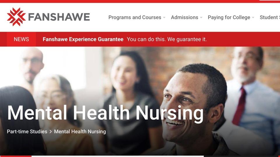 Fanshawe College Mental Health Nursing