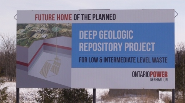 OPG waste sign