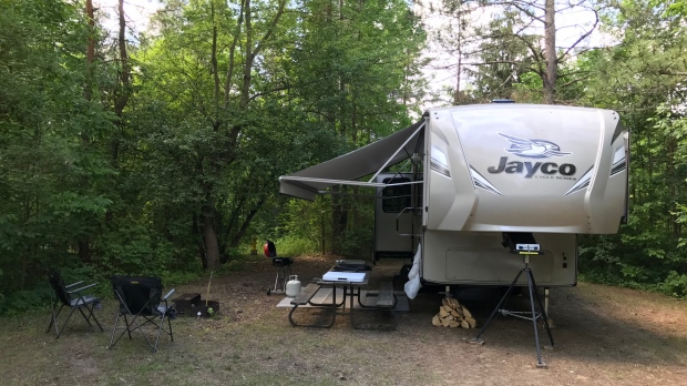 Store, campground seeing increase of campers amid COVID-19 pandemic