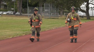 Firefighters from four fire departments across Greater Victoria are coming together tor raise money for local children's' charities: (CTV News)