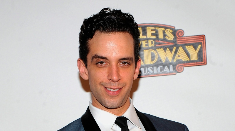 "In this April 10, 2014 file photo, actor Nick Cordero attends the after party for the opening night of ""Bullets Over Broadway"" in New York. (Photo by Brad Barket/Invision/AP, File)"