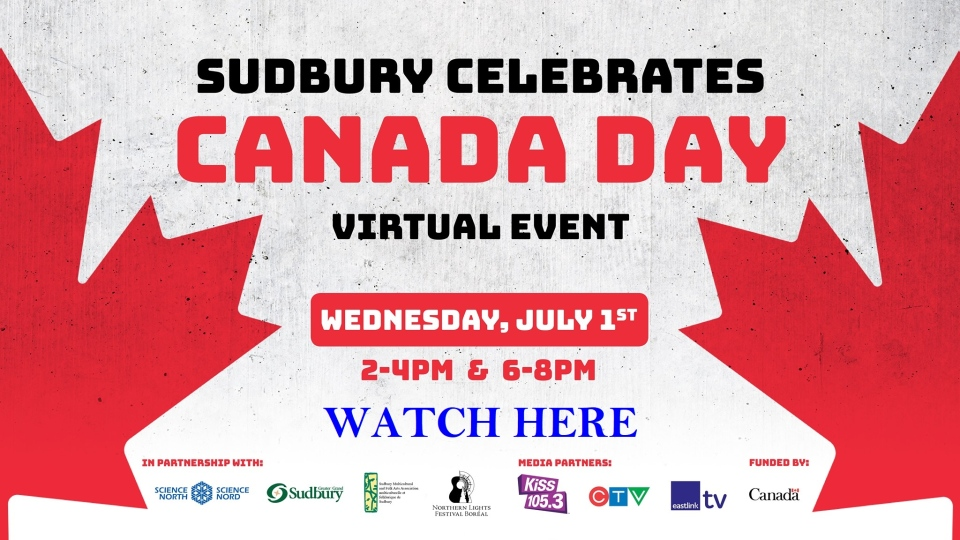 Watch Sudbury celebrates Canada Day here