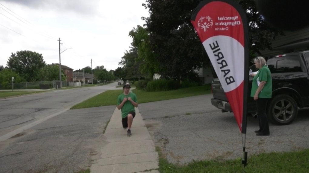 Special olympics day in Barrie