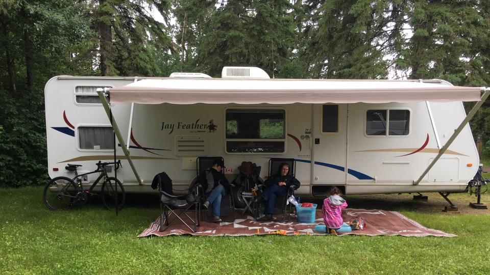 Elk Island campers
