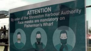 Masks now mandatory in Steveston