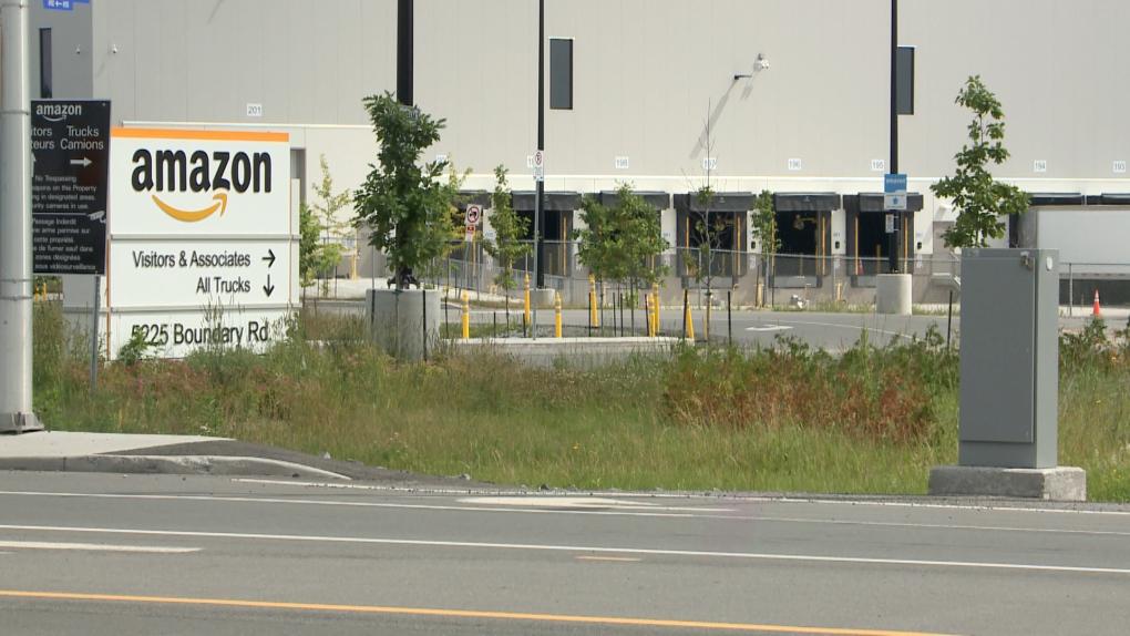 Ottawa's Amazon distribution centre