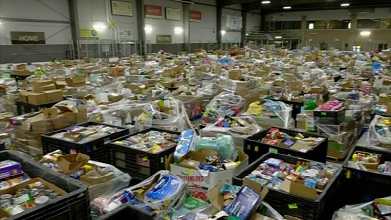 June 27 Miracle donations fill arenas