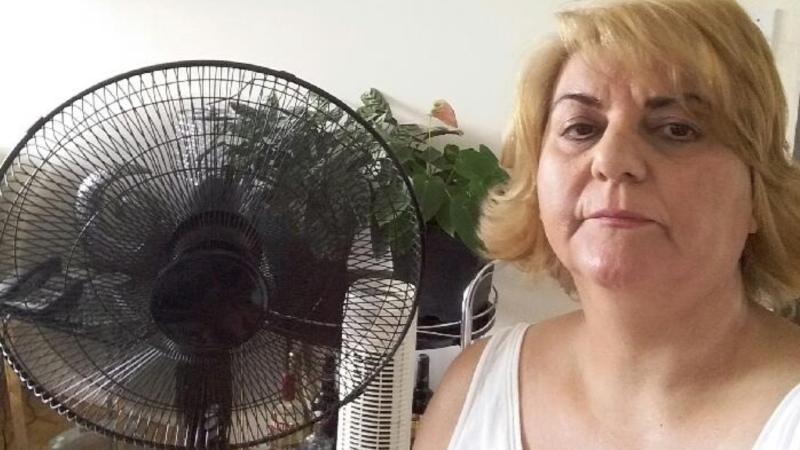 Nasrin Raissi said she's been worried about her health since her building's air conditioning stopped working. (CTV News Toronto)