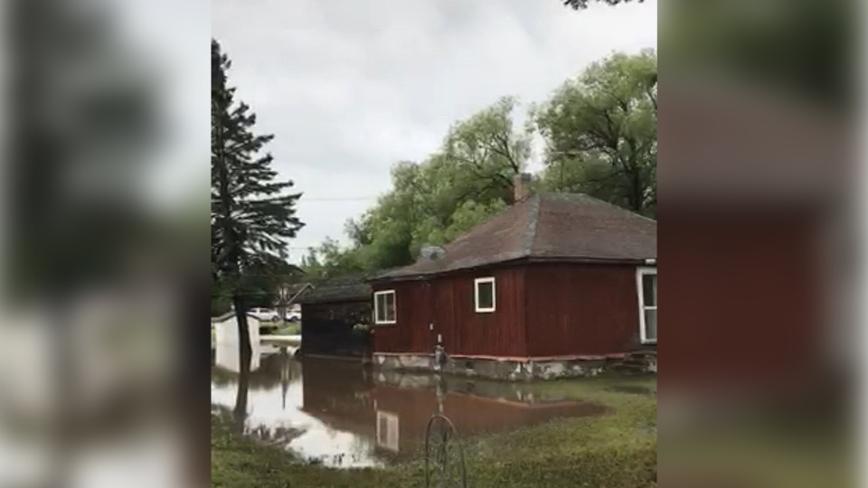 Minnedosa flooding