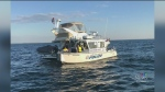 Dramatic rescue on Lake Simcoe
