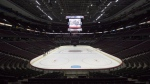 The ice surface and bowl of the Canadian Tire Centre where the Ottawa Senators play is seen Thursday September 7, 2017 in Ottawa. The Ottawa Senators say they will offer options for ticket holders looking for refunds or credits as the NHL season remains on pause due to the COVID-19 pandemic. THE CANADIAN PRESS/Adrian Wyld