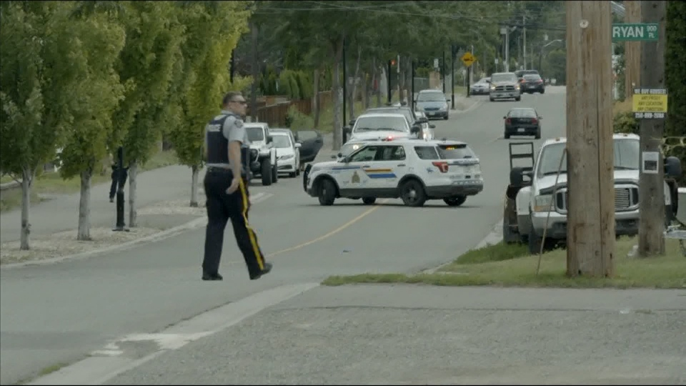 Dog attack Kamloops