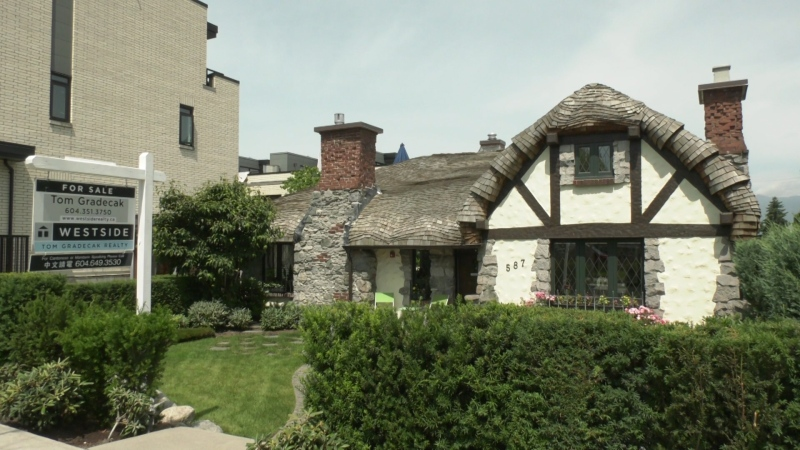 "Vancouver's ""Hobbit House"" is for sale, and the asking price is $2.6 million."