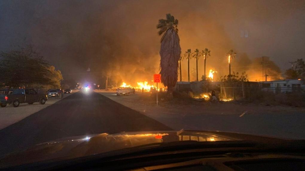 niland wildfire