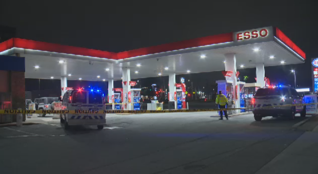 Halifax police searching for suspect after gas station assault