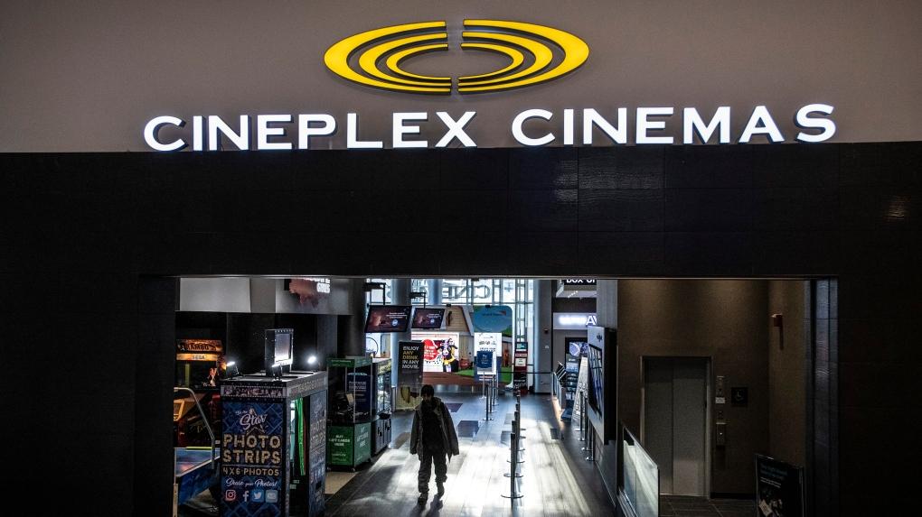 Cineplex theatre in Toronto