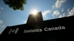 Statistics Canada building and signs are pictured in Ottawa on Wednesday, July 3, 2019. THE CANADIAN PRESS/Sean Kilpatrick