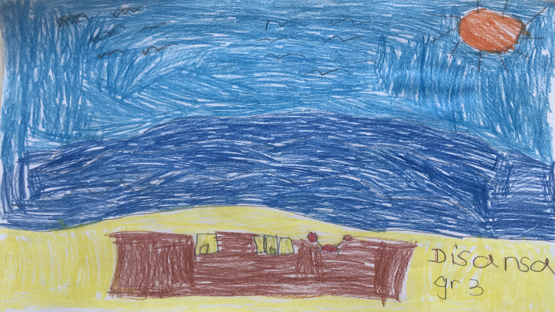 Disansa, 9 years old, Grade 3, School Adrienne Clarkson, Nepean