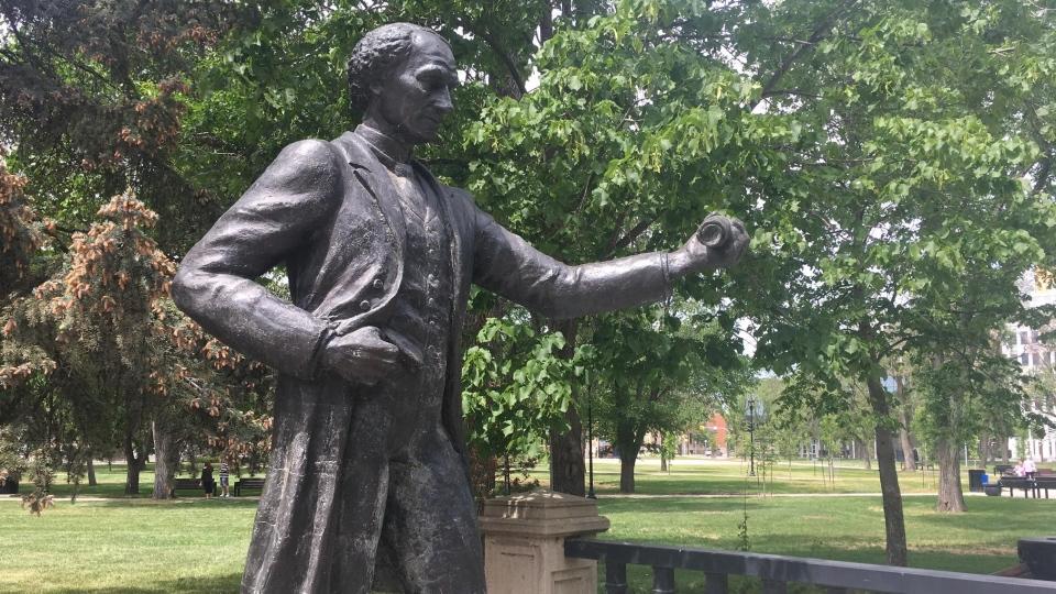 The Sir John A. Macdonald Statue in Regina