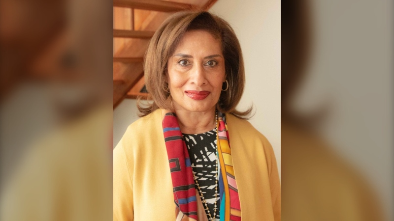 Salma Lakhani was named Alberta's 19th lieutenant governor on Tuesday, June 30, 2020. (Twitter/@NorQuest)